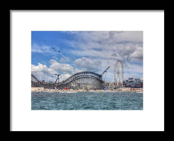 Wildwood Framed Print featuring the photograph The Jersey Shore by Lori Deiter