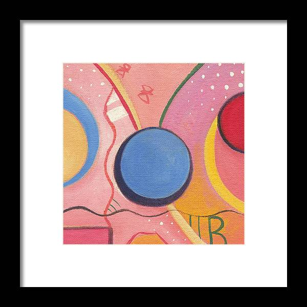 Nature Framed Print featuring the painting The Joy Of Design X V I I by Helena Tiainen