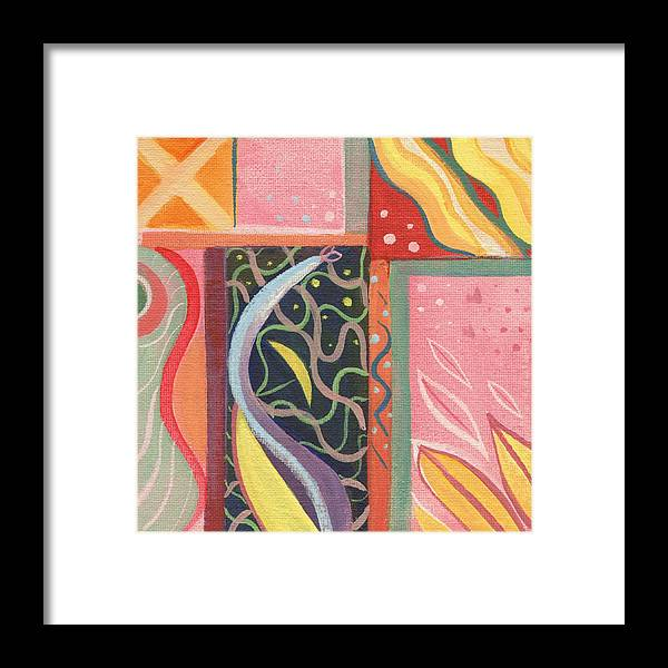 Nature Framed Print featuring the digital art The Joy Of Design X V I Part 2 by Helena Tiainen