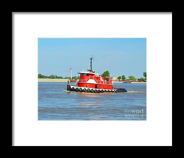 Boat Framed Print featuring the photograph The Judy Ann by Alys Caviness-Gober