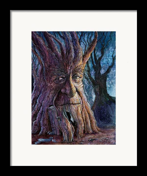 Fantasy Framed Print featuring the painting The Key by Frank Robert Dixon