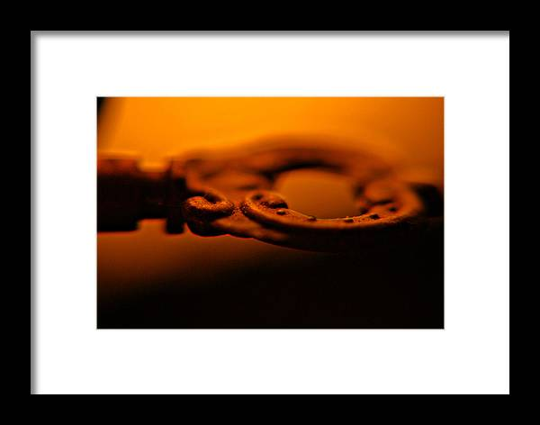 Key Framed Print featuring the photograph The Key by Patricia Trudell