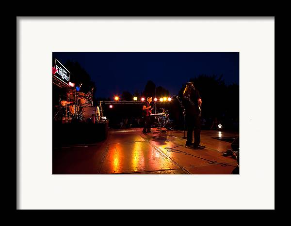 The Kingpins Framed Print featuring the photograph The Kingpins Rock Pullman by David Patterson