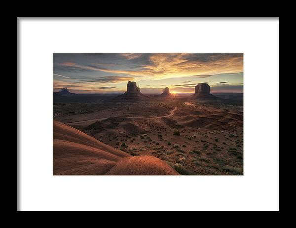 Arizona Framed Print featuring the photograph The Landscape Of My Dreams by Fiorenzo Carozzi