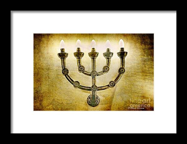 Light Framed Print featuring the photograph The Light Of Remembrance by Elena Comens