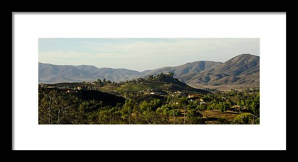 Mountains Framed Print featuring the photograph The Little Mountain by James Blackwell JR