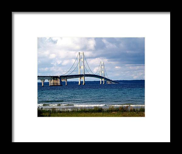 Bridges Framed Print featuring the photograph The Mac2 by Jennifer King