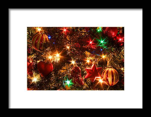 Greeting Card Framed Print featuring the photograph The Magic Of Christmas by Julia Fine Art And Photography
