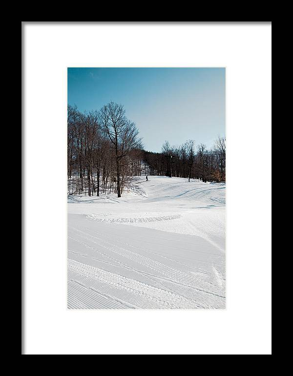 Mccauley Mountain Ski Area Framed Print featuring the photograph The Mccauley Mountain Ski Area by David Patterson