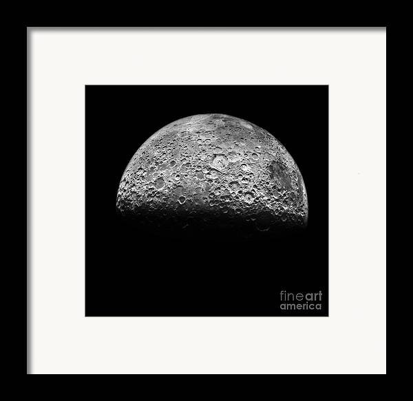 1971 Framed Print featuring the photograph The Moon by NASA Science Source