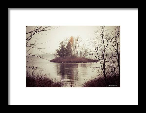Adobe Lightroom 4 Framed Print featuring the photograph The Morning Calm by Dustin Abbott