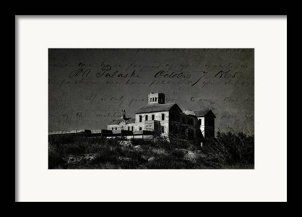 Spain Framed Print featuring the photograph The Most Haunted House In Spain. Casa Encantada. Welcome To The Hell by Jenny Rainbow