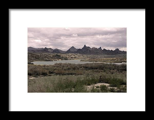Landscape Framed Print featuring the photograph The Needles by Douglas Settle