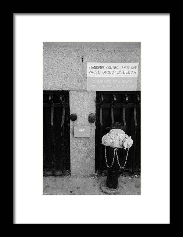 Wtc Framed Print featuring the photograph The New Normal In Black And White by Rob Hans