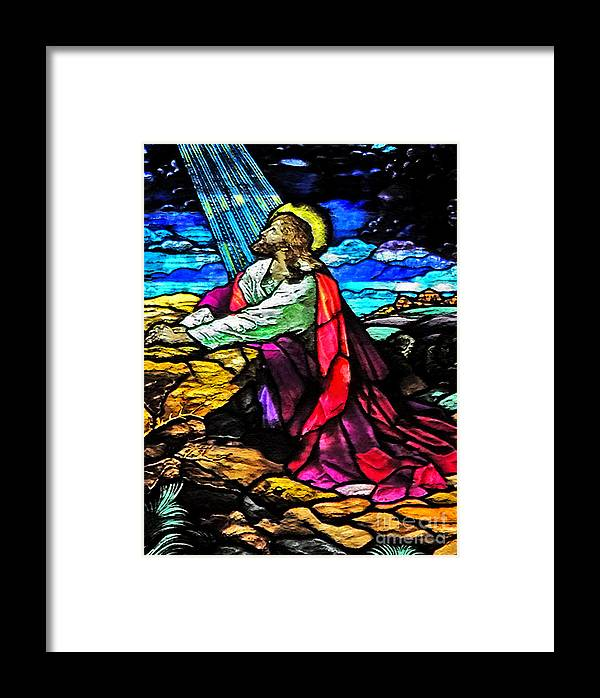Easter Cards Framed Print featuring the photograph The Night Before The Cross by Lydia Holly