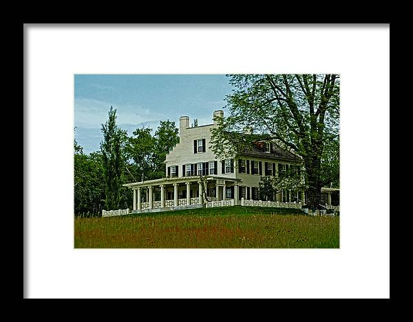 Home Framed Print featuring the photograph The Oaks by Mike Martin