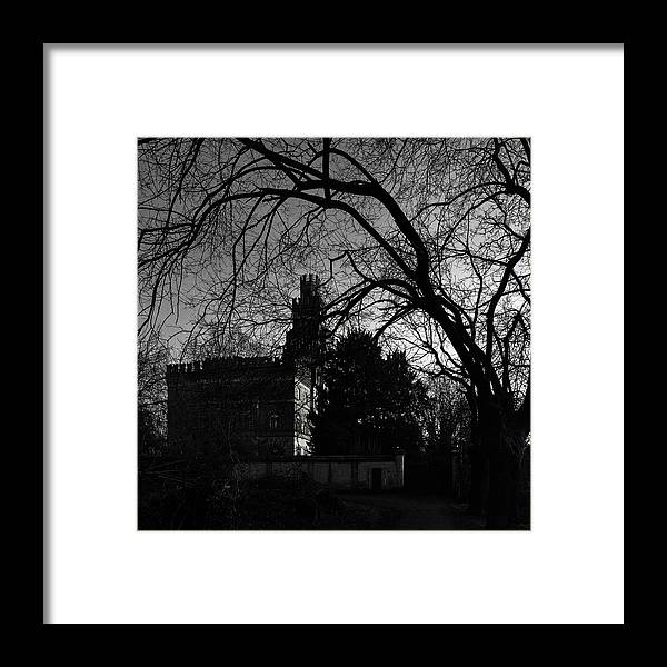 Castle Framed Print featuring the photograph The Old Castle by Alfio Finocchiaro