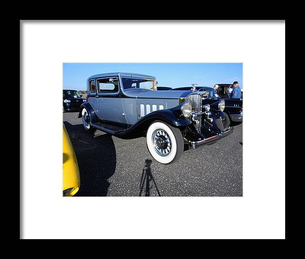The Packard Framed Print featuring the photograph The Packard by Warren Thompson