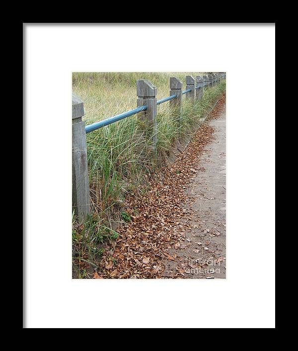 Path Framed Print featuring the photograph The Path by Margaret McDermott