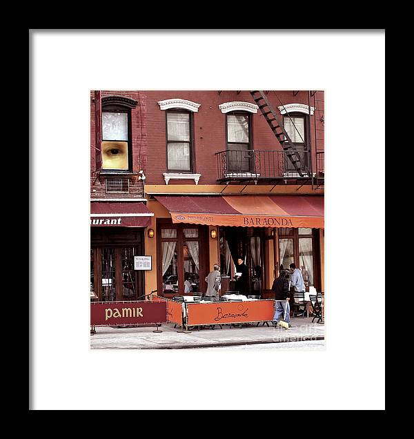 Restaurant Framed Print featuring the photograph The Photographer's Eye by Madeline Ellis