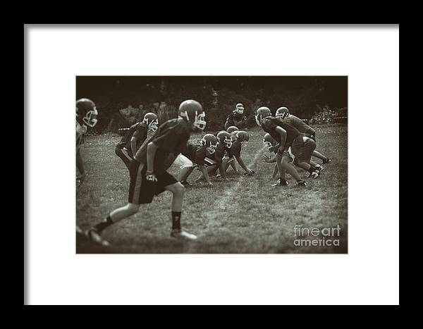 Sports Framed Print featuring the photograph The Practice Squad by James Neiss