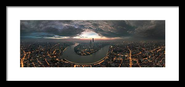 Shanghai Framed Print featuring the photograph The Prelude by Stan Huang