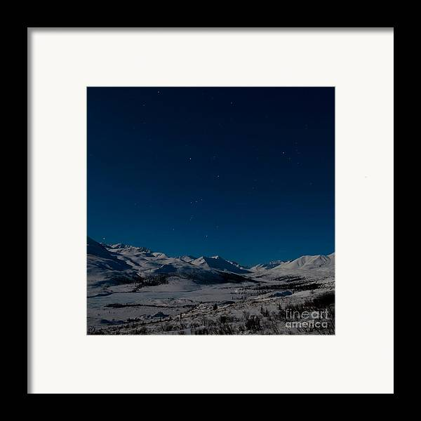 Dempster Highway Framed Print featuring the photograph The Presence Of Absolute Silence by Priska Wettstein