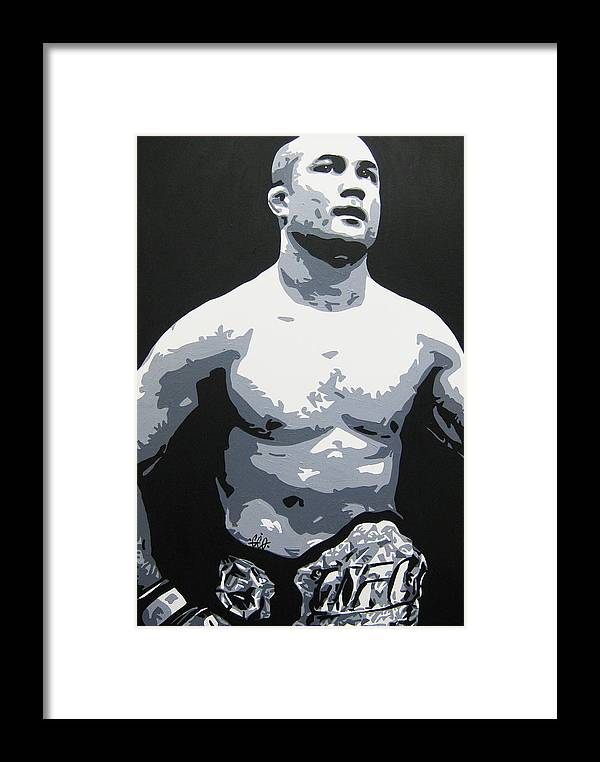 Mma Framed Print featuring the painting The Prodigy by Geo Thomson
