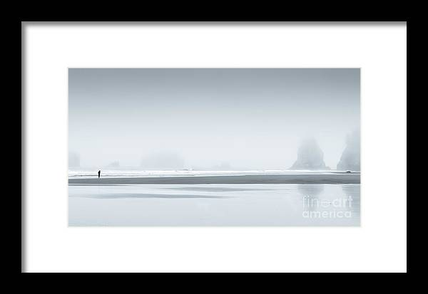 Second Beach Framed Print featuring the photograph The Quiet Man by Oneiroi Photography