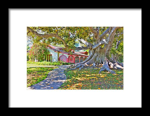 Framed Print featuring the photograph The Rancho by Heidi Smith