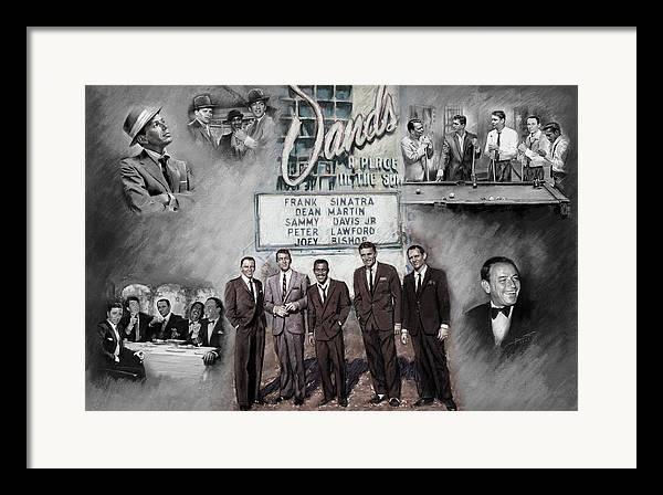 Rat Pack Framed Art Prints Fine Art America