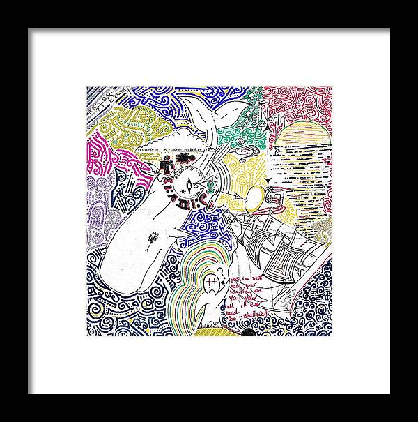 Fish Framed Print featuring the photograph The Rest Is History. by Keith Harkin