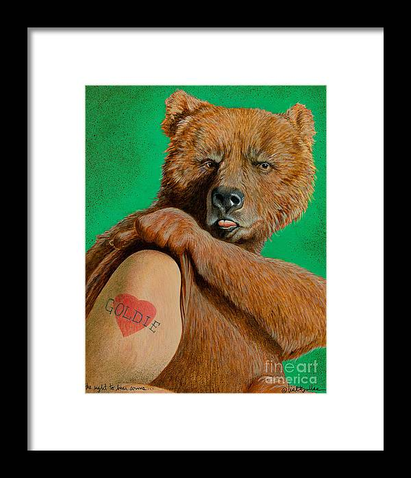 The Right To Bear Arms... Framed Print by Will Bullas