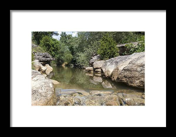 River Framed Print featuring the photograph The River by Antonio Macias Marin