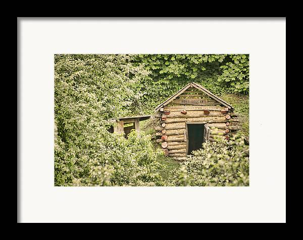 Rustic Framed Print featuring the photograph The Root Cellar by Heather Applegate