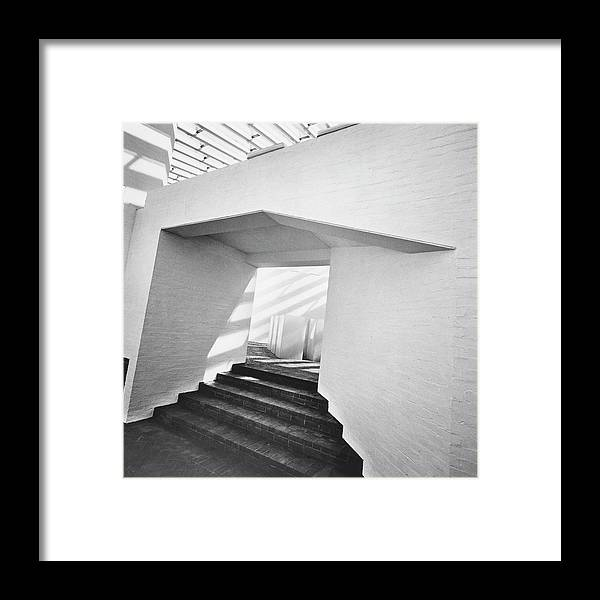 Connecticut Framed Print featuring the photograph The Sculpture Gallery Of Architecture Philip by Horst P. Horst