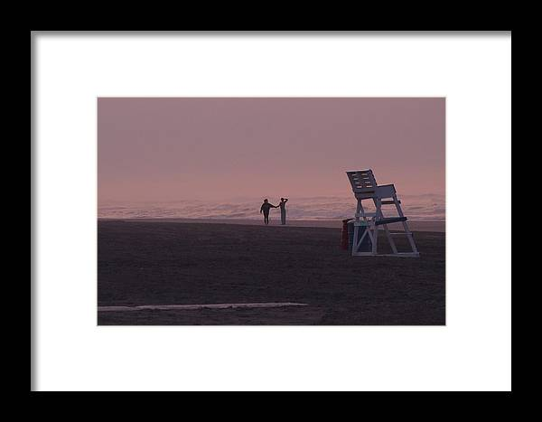 Sunrise Framed Print featuring the photograph The Simple Things by Jim Mann