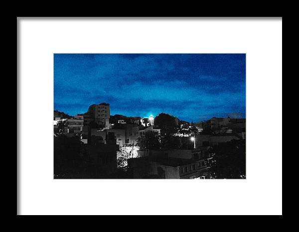 Dark Framed Print featuring the photograph The Sky And The Night by Shoot AtSight