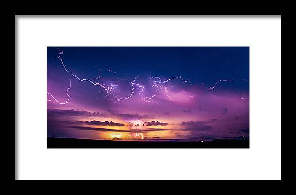 Axtell Nebraska Framed Print featuring the photograph The Sky Was Talking To Me... Part 2 by NebraskaSC