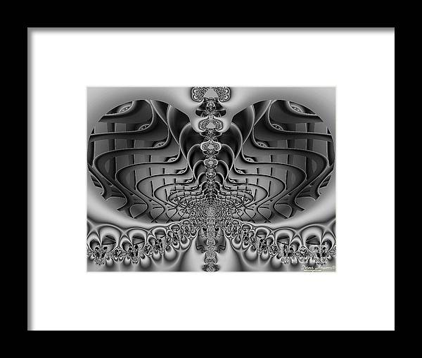 2-dimensional Framed Print featuring the photograph The Sound by Dana Haynes