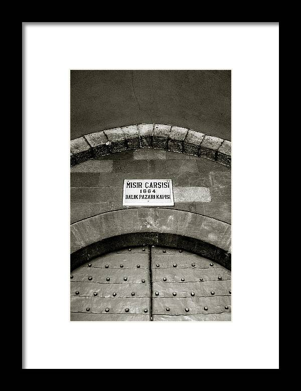 Istanbul Framed Print featuring the photograph The Spice Bazaar by Shaun Higson