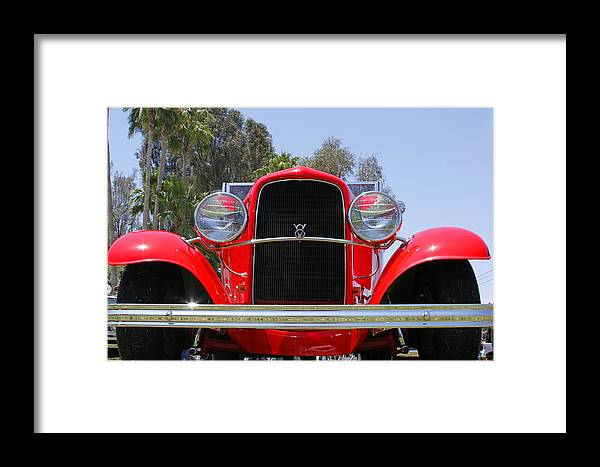 V8 Framed Print featuring the photograph The Stare Of A V8 by Shoal Hollingsworth