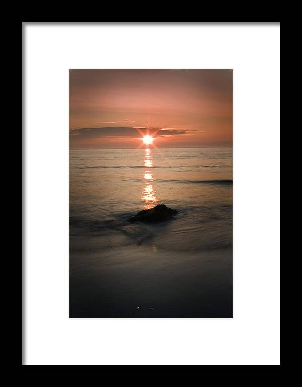 Sunset Framed Print featuring the photograph The Sunset by Andrew James