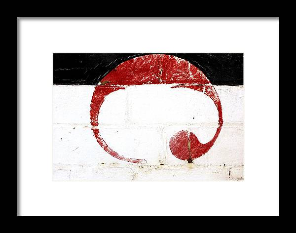 Wilton Framed Print featuring the photograph The Symbol by Wendy Wilton