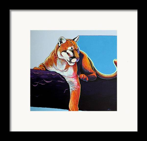 Wildlife Framed Print featuring the painting The Toll Collector by Joe Triano