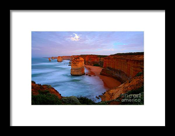 Australia Framed Print featuring the photograph The Tweleve Apostles by Cristian Radu