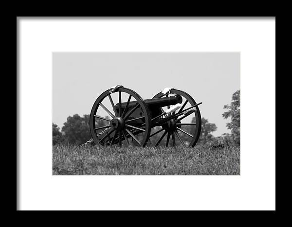 American Framed Print featuring the photograph The Twelve Pound Napoleon - Richmond Ky by Thia Stover