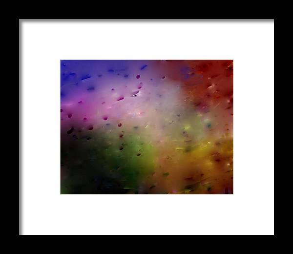 Digital Art Framed Print featuring the digital art The Unknow by Dan MacDonald