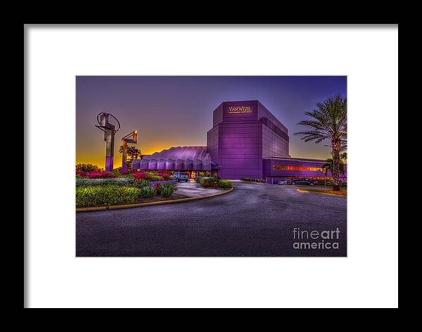 Performing Arts Hall Framed Print featuring the photograph The Van Wezel 2 by Marvin Spates