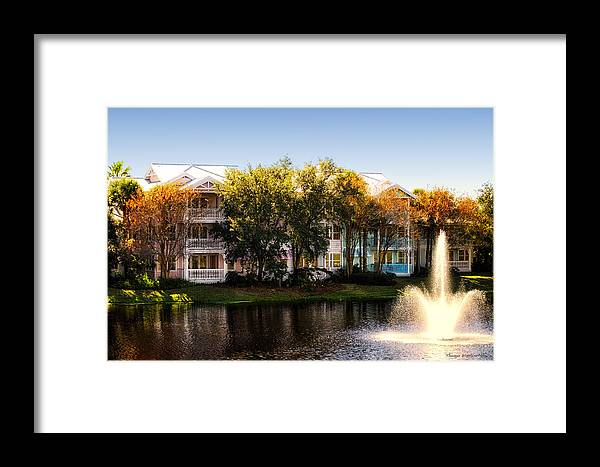 Villas Framed Print featuring the photograph The Villas Of Walt Disney World by Thomas Woolworth